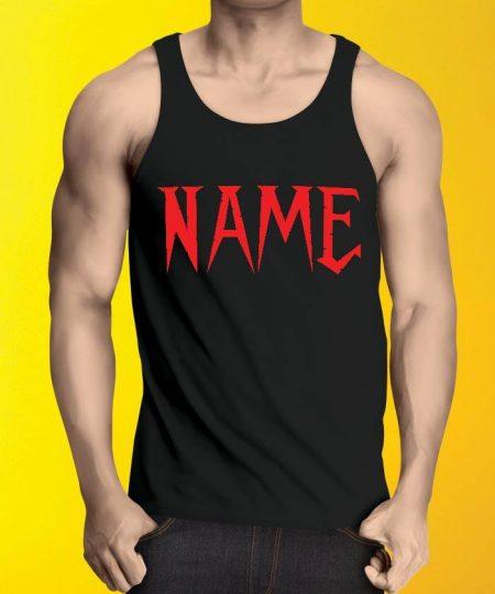 Name tank Top