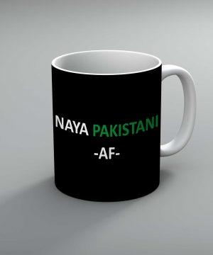 Naya Pakistan Af Mug By Roshnai - Pickshop.Pk