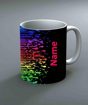 Pattern 11 Name Mug By Roshnai - Pickshop.Pk