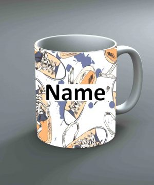Pattern 17 Name Mug By Roshnai - Pickshop.Pk