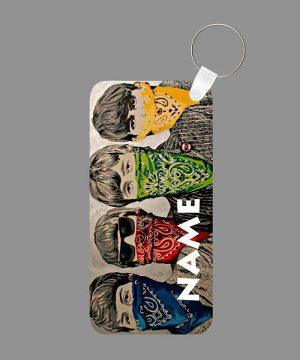 Pattern 21 Name Keychain By Roshnai - Pickshop.Pk