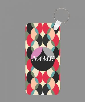 Pattern 35 Name Keychain By Roshnai - Pickshop.Pk