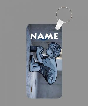 Pattern 37 Name Keychain By Roshnai - Pickshop.Pk