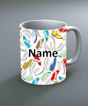 Pattern 9 Name Mug By Roshnai - Pickshop.Pk