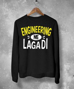 Engineering Ne Lagadi Sweatshirt By Teez Mar Khan - Pickshop.Pk