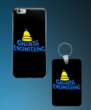 Ghanta Engineering Mobile Case And Keychain By Roshnai - Pickshop.Pk