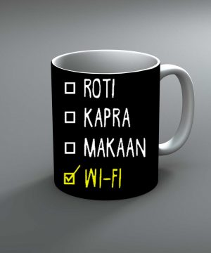Roti Kapra Makaan Mug By Roshnai - Pickshop.Pk