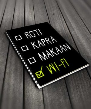 Roti Kapra Makaan Notebook By Roshnai - Pickshop.Pk