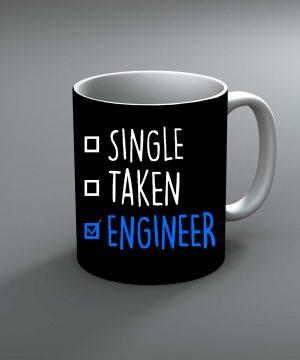 Single Taken Engineer Mug By Roshnai - Pickshop.Pk