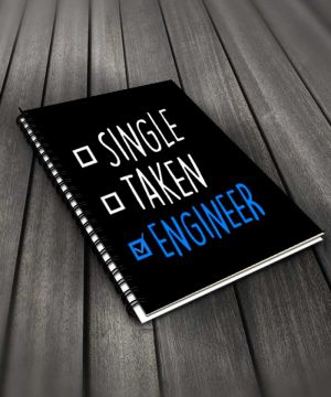 Single Taken Engineer Notebook By Roshnai - Pickshop.Pk