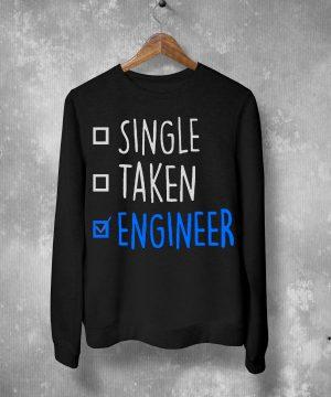 Single Taken Engineer Sweatshirt By Teez Mar Khan - Pickshop.Pk