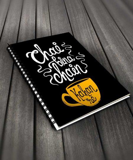 Chai Bina Chain Kahan Re Notebook By Roshnai - Pickshop.Pk