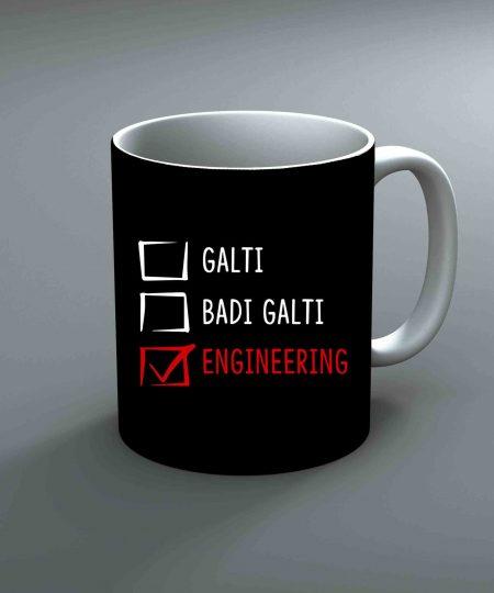 Galti Badi Galti Engineering Mug By Roshnai - Pickshop.Pk