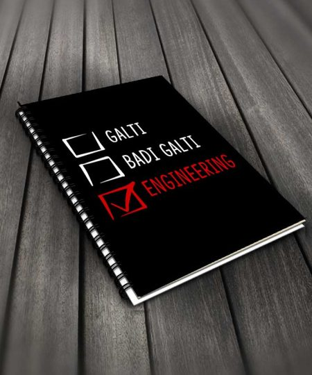 Galti Badi Galti Engineering Notebook By Roshnai - Pickshop.Pk