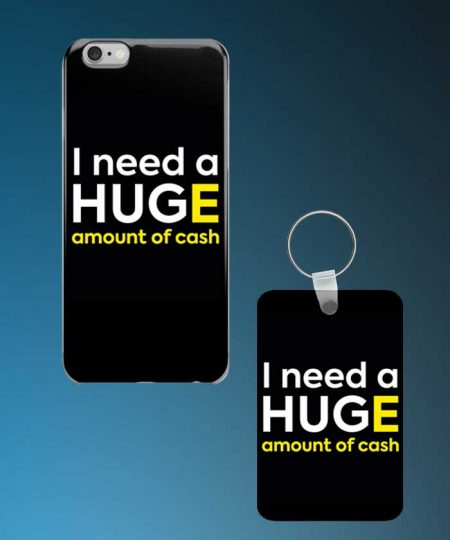 I Need A Hug Mobile Case And Keychain By Roshnai - Pickshop.Pk
