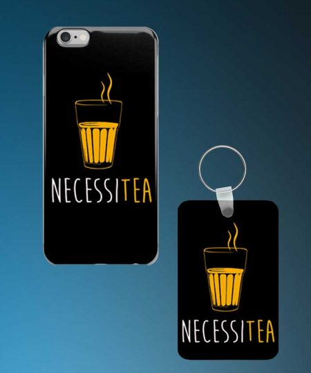 Necessitea Mobile Case And Keychain By Roshnai - Pickshop.Pk