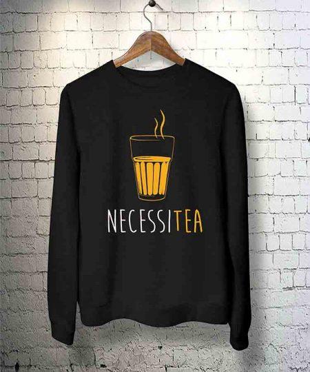 Necessitea Sweatshirt By Teez Mar Khan - Pickshop.Pk