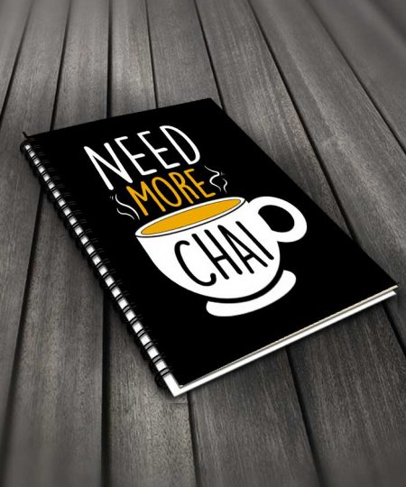 Need More Chai Notebook By Roshnai - Pickshop.Pk