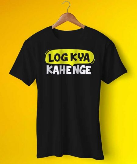 Log Kya Kahenge Tee By Teez Mar Khan - Pickshop.Pk