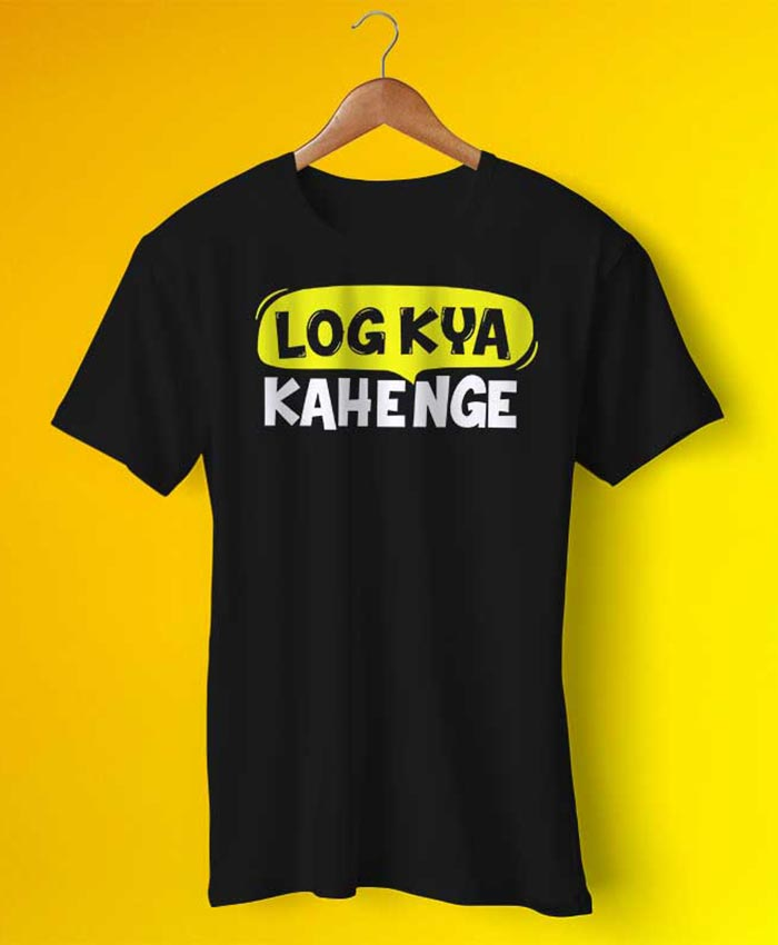 Log Kya Kahenge Tee By Teez Mar Khan - Pickshop.Pk