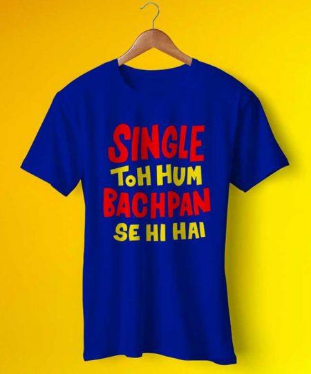 Single To Hum Bachpan Tee By Teez Mar Khan - Pickshop.Pk