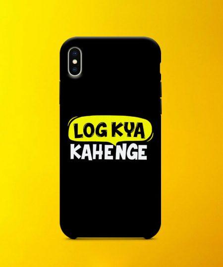 Log Kya Kahenge Mobile Case By Roshnai - Pickshop.Pk