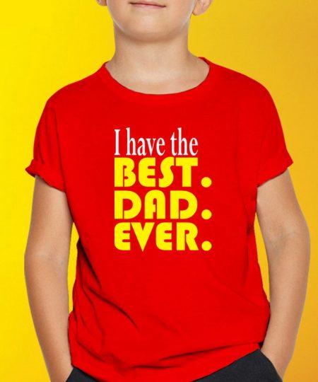 Best Dad Ever T-Shirt By Roshnai - Pickshop.Pk