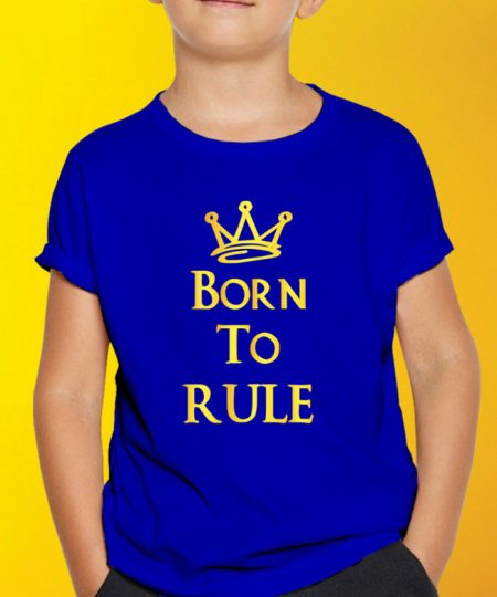 Born To Rule T-Shirt By Roshnai - Pickshop.Pk