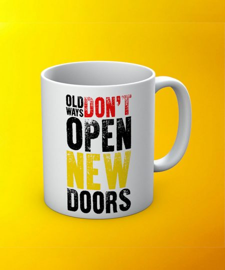 Open New Door Mug By Roshnai - Pickshop.Pk