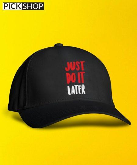 Just Do It Cap By Roshnai - Pickshop.Pk