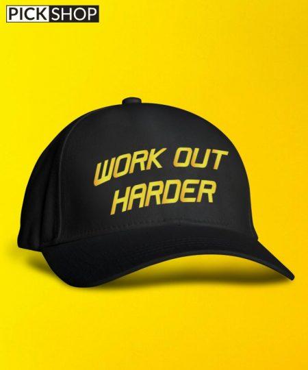 Work Out Harder Cap By Roshnai - Pickshop.Pk
