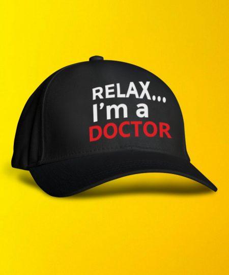 Relax I M Doctor Cap