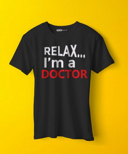Relax I M Doctor Tee