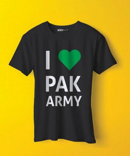 I Love Pak Army Tee