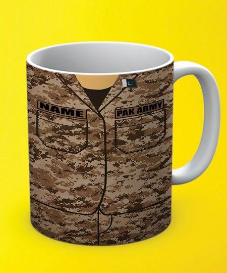 Pak Army Name Mug