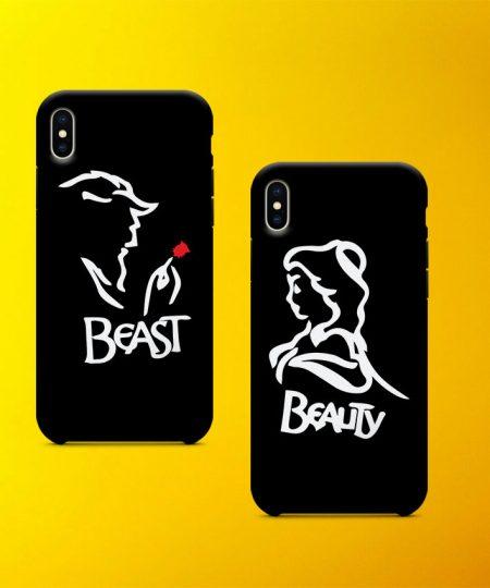 Beauty Beast Mobile Case By Teez Mar Khan - Pickshop.pk