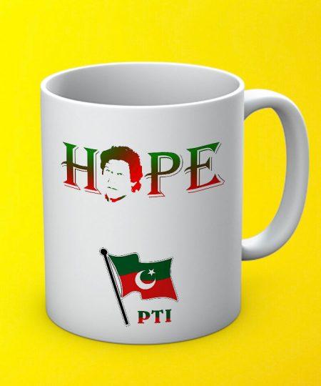 Hope Pti Mug By Teez Mar Khan - Pickshop.pk