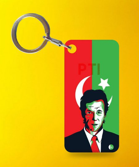 Imran Khan Flag Keychain By Teez Mar Khan - Pickshop.pk