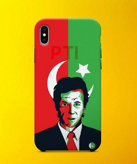 Imran Khan Flag Mobile Case By Teez Mar Khan - Pickshop.pk