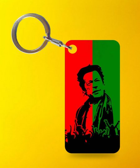 Imran Khan Jalsa Keychain By Teez Mar Khan - Pickshop.pk