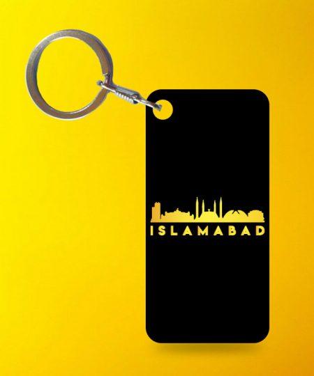 Islamabad Keychain By Teez Mar Khan - Pickshop.pk