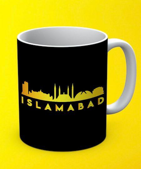 Islamabad Mug By Teez Mar Khan - Pickshop.pk