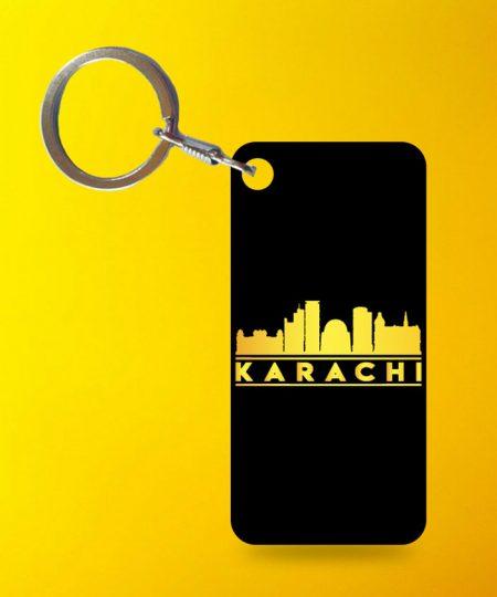 Karachi Keychain By Teez Mar Khan - Pickshop.pk