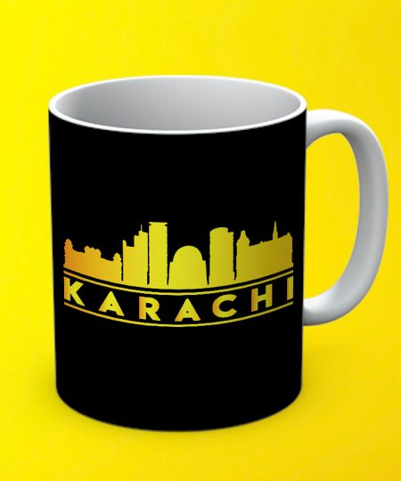 Karachi Mug By Teez Mar Khan - Pickshop.pk