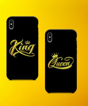 King And Queen Mobile Case By Teez Mar Khan - Pickshop.pk