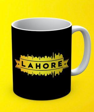 Lahore City Mug By Teez Mar Khan - Pickshop.pk
