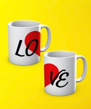 Love Mug By Teez Mar Khan - Pickshop.pk