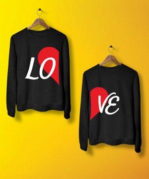 Love Sweatshirt By Teez Mar Khan - Pickshop.pk