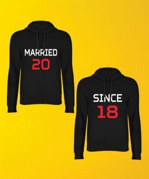 Married Since Hoodie By Teez Mar Khan - Pickshop.pk