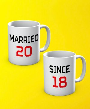 Married Since Mug By Teez Mar Khan - Pickshop.pk